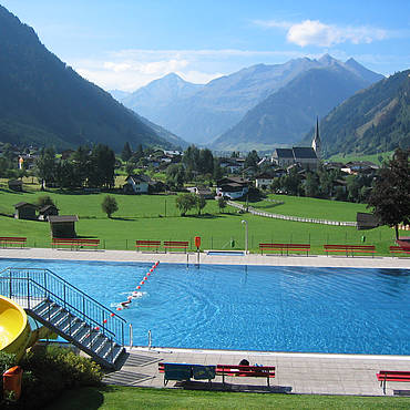 Sonnblick Freibad in Rauris